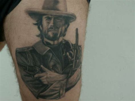 clint eastwood tattoo the outlaw clint eastwood
