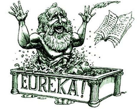 Eureka Bathtub by Philosophy Of Science Portal Eureka Or Quot Archimedes And