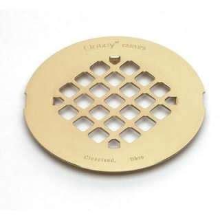 kohler brass shower drain in brushed chrome k 9132 g
