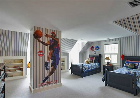 Basketball Themed Bunk Beds 20 Sporty Bedroom Ideas With Basketball Theme Home Design And Interior