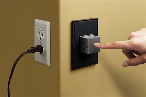 cool wall receptacle cool wall receptacle pop out wall outlet with 3 sockets