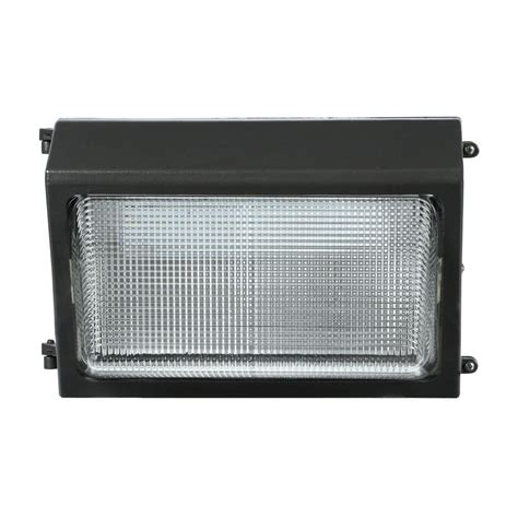 Lithonia Led Outdoor Lighting Lithonia Lighting Outdoor Bronze Led Wall Pack Twr1 Led 1 50 K Mvolt M2 The Home Depot