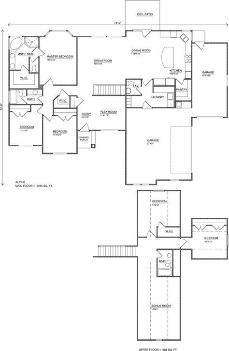 utah floor plans alpine frog plan big perry homes southern utah