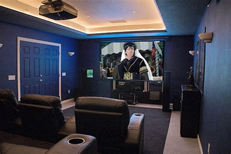 how to paint a room to make it look bigger turn any room into a home theater apartment therapy