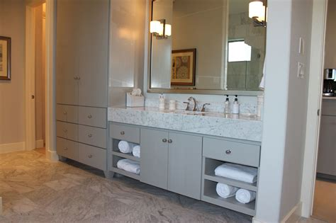 modern bathroom linen cabinets bathroom burrows cabinets central texas builder direct custom cabinets