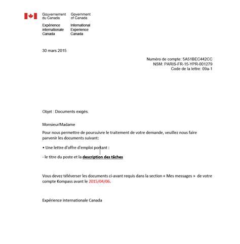 Exemple D Une Lettre De Demande D Emploi En Anglais Une Lettre D Emploi Mod 232 Le De Lettre