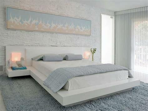 schlafzimmer hellblau kreative wandgestaltung im schlafzimmer trendige farben