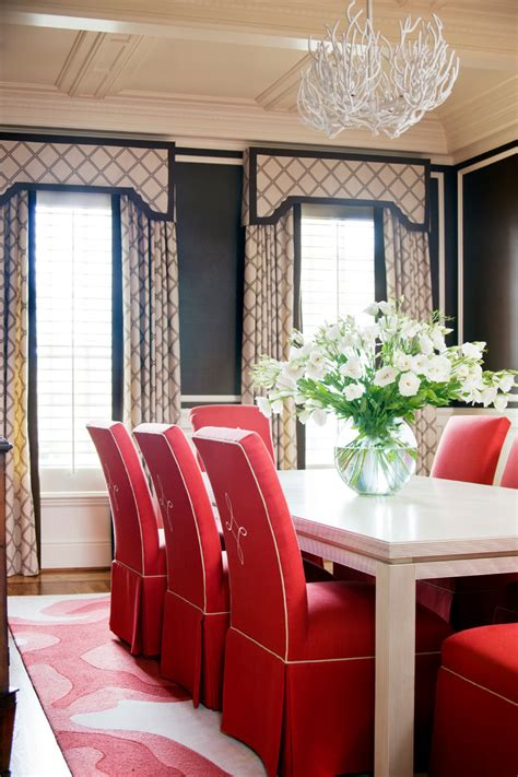 pretty parson chairs  dining room traditional