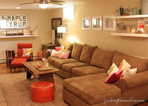 Basement Room Decorating Ideas Decorating Ideas Basement Family Room Finding Home Farms
