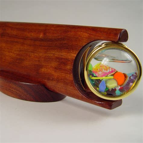 Handmade Kaleidoscopes - brass wooden kaleidoscopes for sale henry bergeson