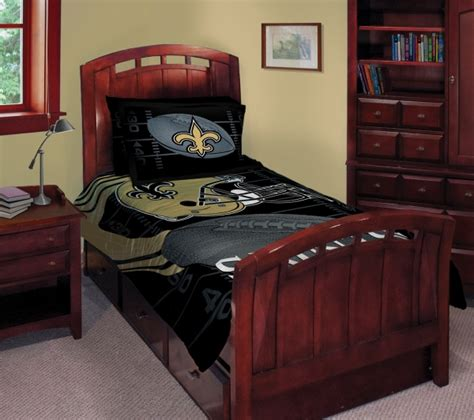 new orleans saints bedroom set new orleans saints nfl twin comforter set 63 quot x 86 quot