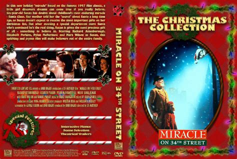 miracle on 34 street miracle on 34th street movie dvd custom covers miracle
