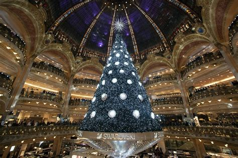 christmas displays are full of cheer at the galeries