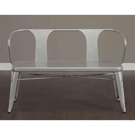 Tabouret Bench by Tabouret Metal Dining Bench With Back Great Deals