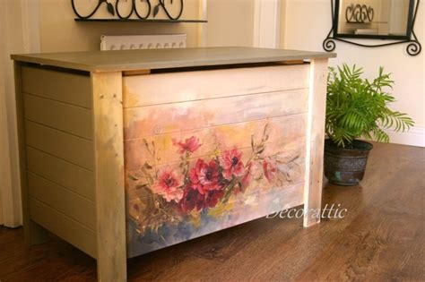 decoupage paint decoupage trunk namaste