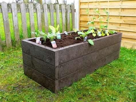 plastic raised garden beds recycled mixed plastic raised beds kedel co uk