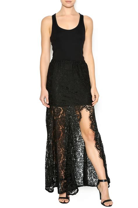 Lace Mermaid Skirt do be mermaid lace maxi skirt from orlando by instyle