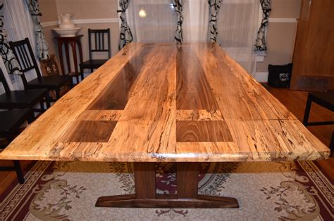 maple wood dining table maple live edge dining table