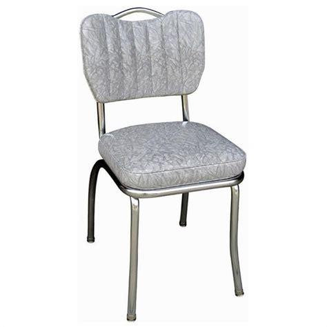 retro kitchen chairs retro 1950s handle back retro kitchen chair in cracked grey 4260cig