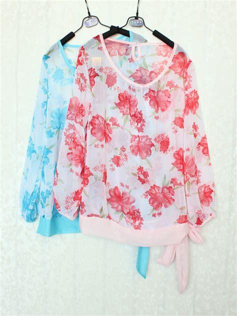 Axara Pink Opdress Lengan Panjang Murah Cantik blouse wanita import lengan panjang cantik model terbaru
