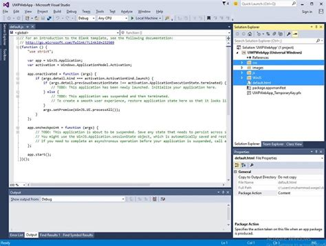 windows 10 winjs tutorial windows 10 development web platform