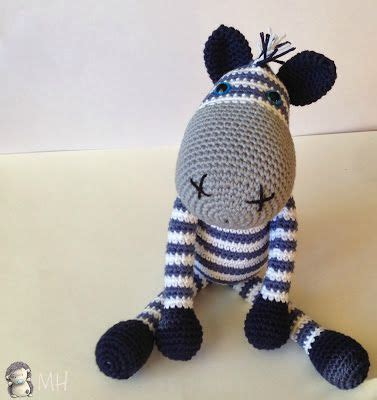 Zebra Pattern In Spanish | mothers hyperactive zebra amigurumi patterns free knit