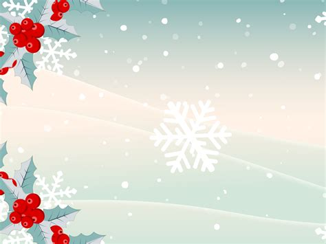 Xmas Snows Presentation Powerpoint Templates Christmas Green Objects Free Ppt Backgrounds Powerpoint Slide Background Templates