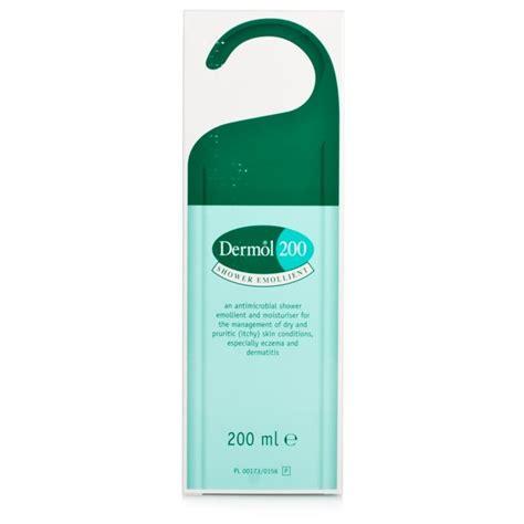 1800 Shower Bath dermol 200 shower emollient eczema and psoriasis