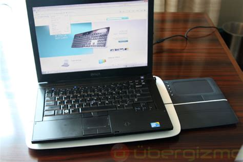 Logitech Touch Lapdesk N600 Ubergizmo Logitech Laptop Desk
