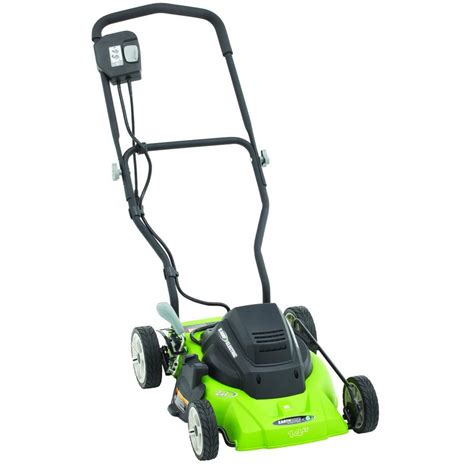 earthwise 14 in 120 volt corded electric lawn mower 50214