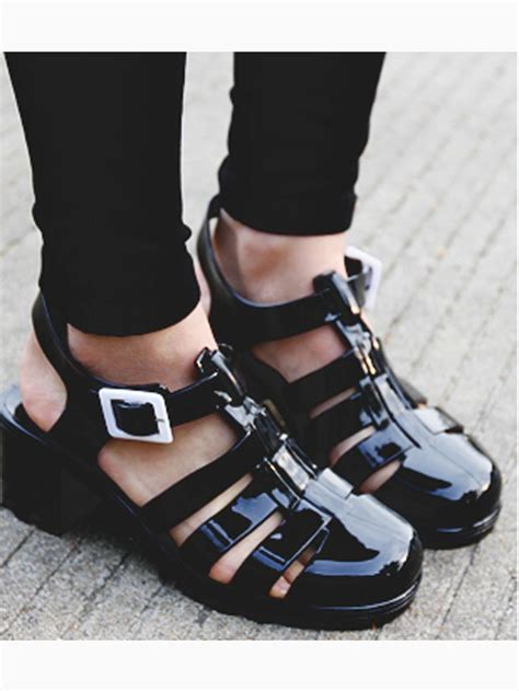 mens jelly sandals best 25 black jelly shoes ideas on jelly