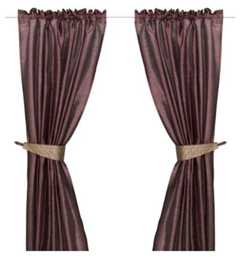 modern tie backs for curtains felicia pair of curtains with tie backs modern