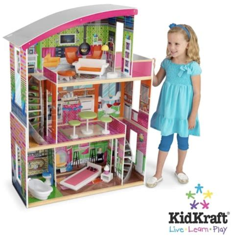 doll house toddler modern mini houses