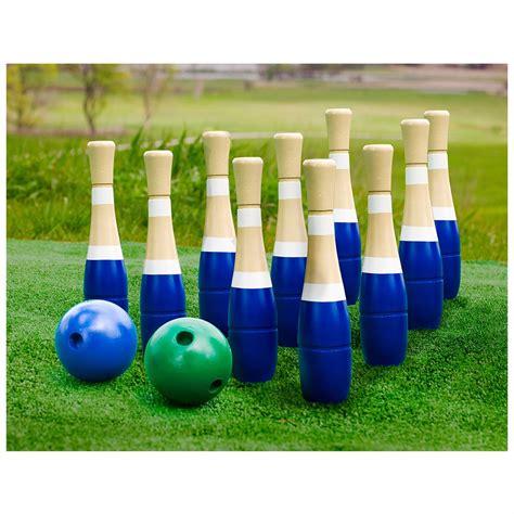backyard bowling sterling sports lawn bowling 582326 yard games at