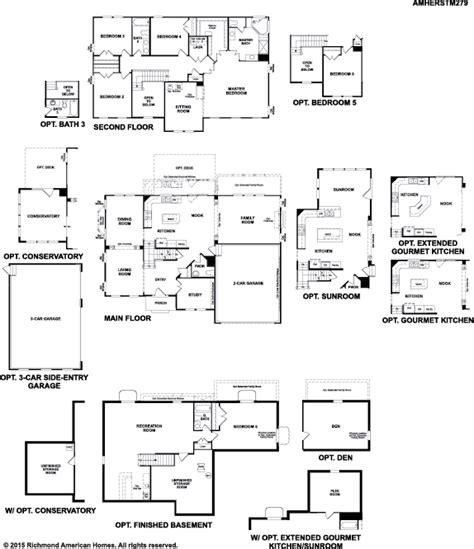 richmond american home floor plans best richmond american floor plans contemporary flooring