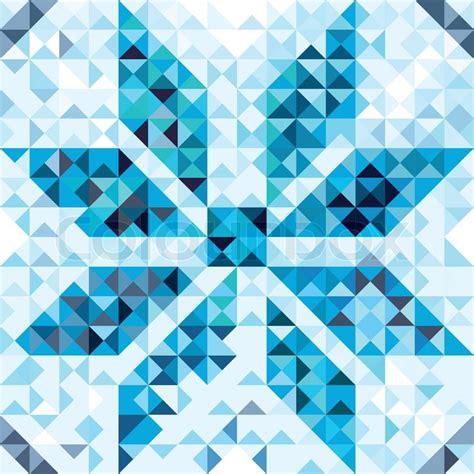 snowflake geometric pattern seamless pattern of geometric snowflake colorful mosaic