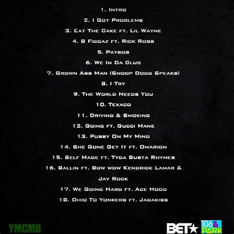 R Up Tracklisting R Tv by Bow Wow Greenlight 5 Mixtape Tracklist