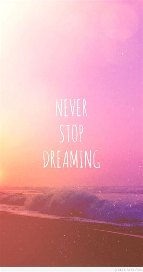 dream wallpaper inspiring quote