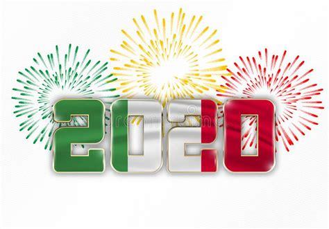 merry christmas italy stock vector illustration  green