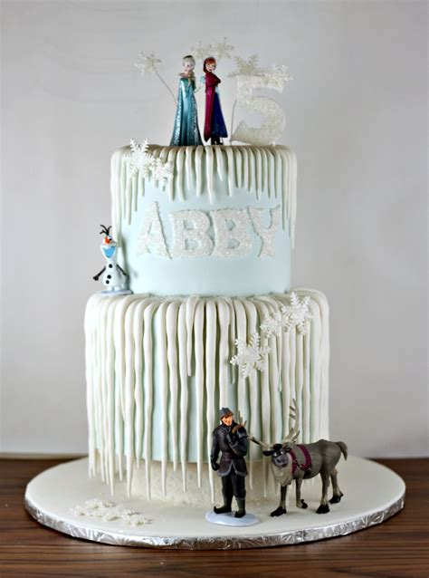 frozen icicle birthday cake lil  cakes
