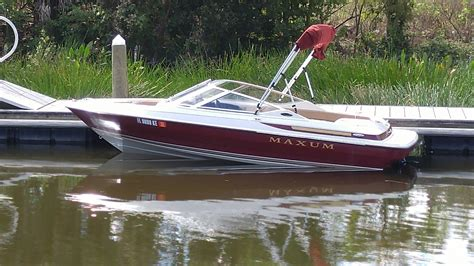 maxum boats used maxum 1700 boat for sale from usa
