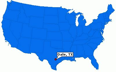 dale texas map dale texas information epodunk