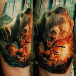 bear tattoo best tattoo ideas gallery