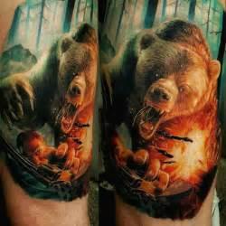 bear tattoo  tattoo ideas gallery