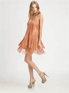 Elegant fringe dresses ideas for women designers outfits