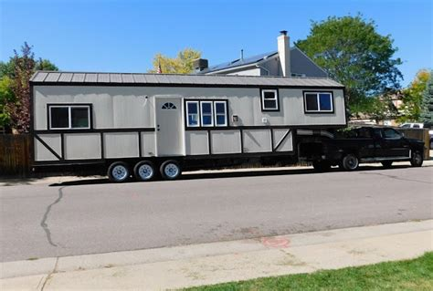 The Rose Cut Tiny Home Built On A Gooseneck Trailer Tiny House Gooseneck Trailer