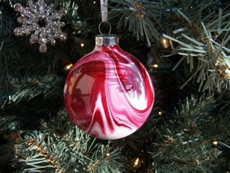 painting ornaments with acrylic paint this december 2007