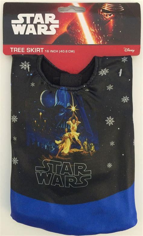 star wars mini christmas tree skirt on amazon yodasnews