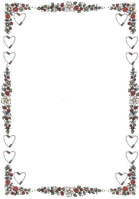 bordes de pagina colouring pages margenes dia de san valent 237 n para hojas imagui