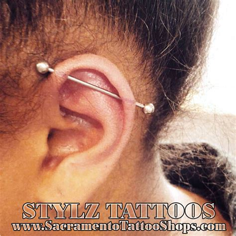 tattoo parlor ear piercing price industrial piercing price rancho cordova